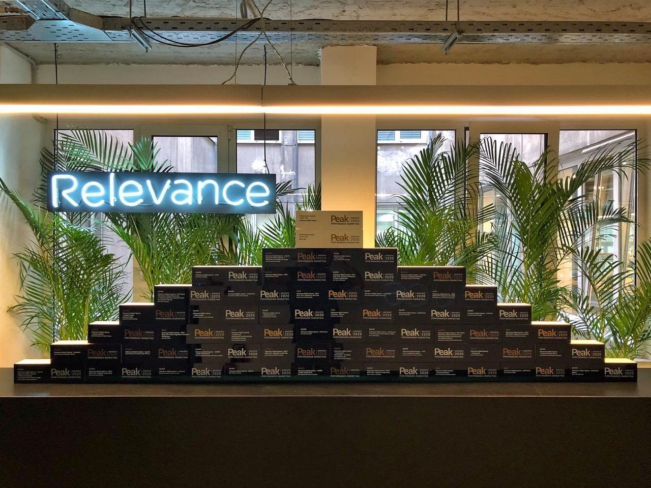 ''Peak Awards 2020, Relevance has received 41 Performance Marketing Awards''